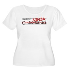 Job Ninja Orthodontist T-Shirt