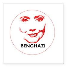 "Hillary Clinton Benghazi 2016 Square Car Magnet 3"""