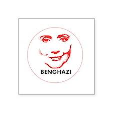 "Hillary Clinton Benghazi 2016 Square Sticker 3"" x"