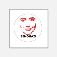 "Hillary Clinton Benghazi 2016 Square Sticker 3"" x"