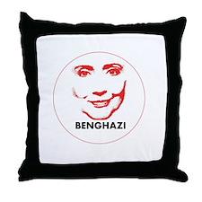 Hillary Clinton Benghazi 2016 Throw Pillow