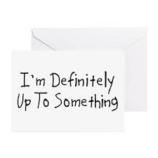 Up to Something Greeting Cards (Pk of 10)
