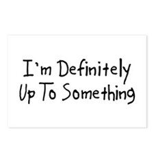 Up to Something Postcards (Package of 8)