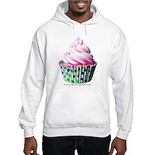 Pink Polka Dot Cupcake Hoodie