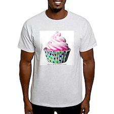 Pink Polka Dot Cupcake T-Shirt
