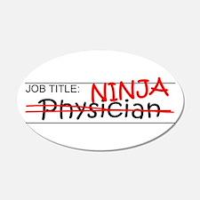 Job Ninja Physician Wall Decal
