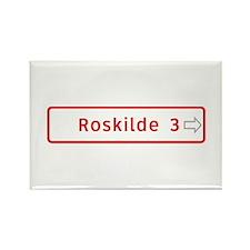 Roadmarker, Roskilde - Denmark Rectangle Magnet