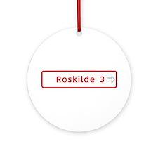 Roadmarker, Roskilde - Denmark Ornament (Round)