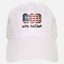 One Nation under God Baseball Baseball Baseball Cap