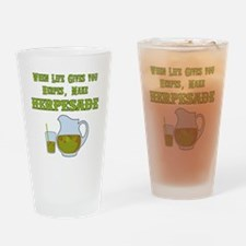 When Life Gives you Herpes Drinking Glass