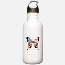 American Butterfly Water Bottle