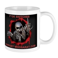 Snitches red Small Mug