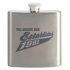Established 1992 Flask