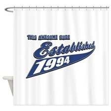 Established 1994 Shower Curtain