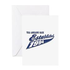 Established 1994 Greeting Card