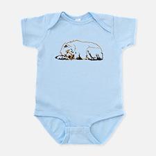 Bearly Sleeping Infant Bodysuit