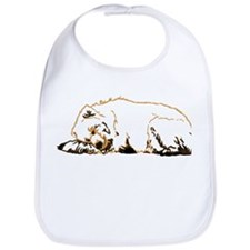 Bearly Sleeping Bib