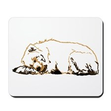 Bearly Sleeping Mousepad