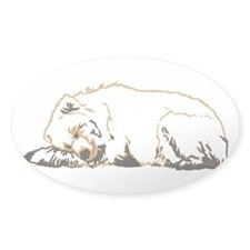 Bearly Sleeping Decal