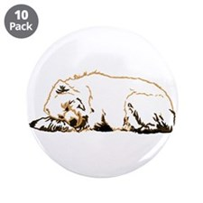 "Bearly Sleeping 3.5"" Button (10 pack)"