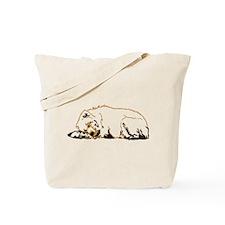 Bearly Sleeping Tote Bag