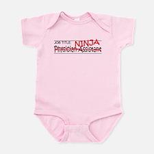 Job Ninja Physician Asst Infant Bodysuit