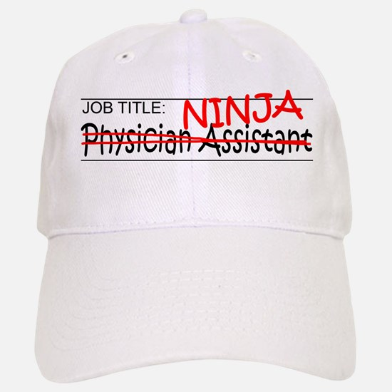 Job Ninja Physician Asst Baseball Baseball Cap