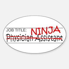Job Ninja Physician Asst Decal