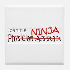 Job Ninja Physician Asst Tile Coaster