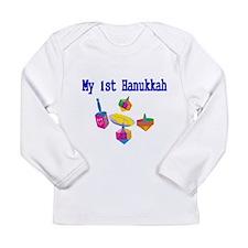 My 1st Hanukkah 2 Long Sleeve T-Shirt