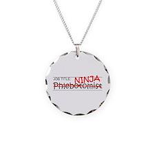 Job Ninja Phlebotomist Necklace