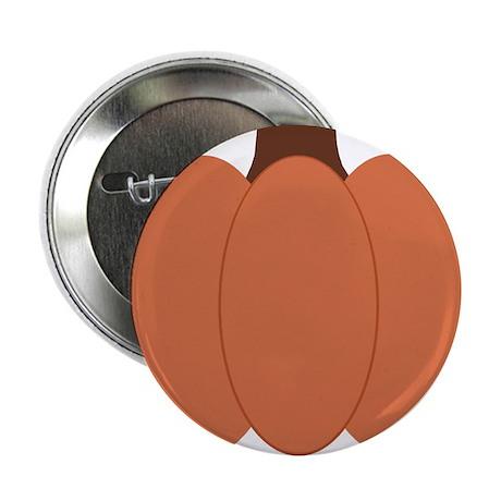 """Pumpkin 2.25"""" Button"""