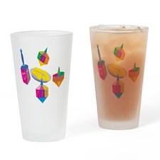 Hanukkah Design for Kids Drinking Glass