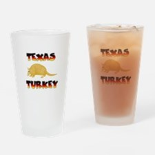 Texas Turkey Drinking Glass