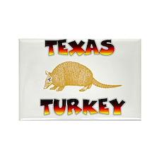 Texas Turkey Rectangle Magnet