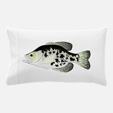 Black Crappie Sunfish fish Pillow Case