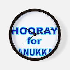 HOORAY FOR HANUKKAH 2 Wall Clock