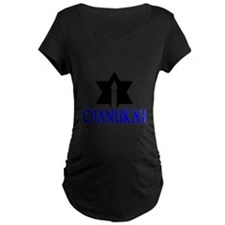 chanukah 1 Maternity T-Shirt