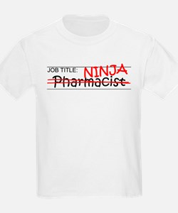 Job Ninja Pharmacist T-Shirt
