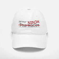 Job Ninja Pharmacist Baseball Baseball Cap