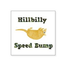 Hillbilly Speed Bump Sticker