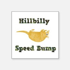 Hillbilly Speed Bump Sticker