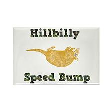 Hillbilly Speed Bump Rectangle Magnet