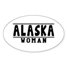 Alaska Woman Designs Decal