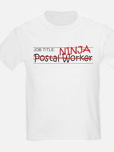 Job Ninja Postal Worker T-Shirt