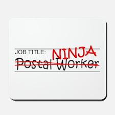 Job Ninja Postal Worker Mousepad