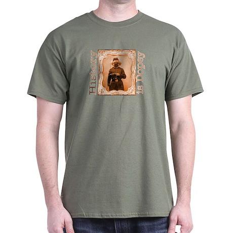 Tibetan Spaniel LEFTY Dark T-Shirt