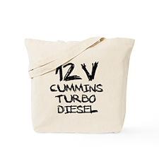 12 V Cummins Turbo Diesel Tote Bag