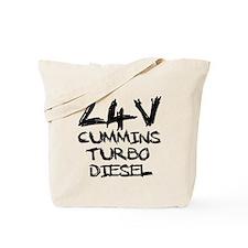 24 V Cummins Turbo Diesel Tote Bag