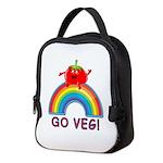 GO VEG! Neoprene Lunch Bag